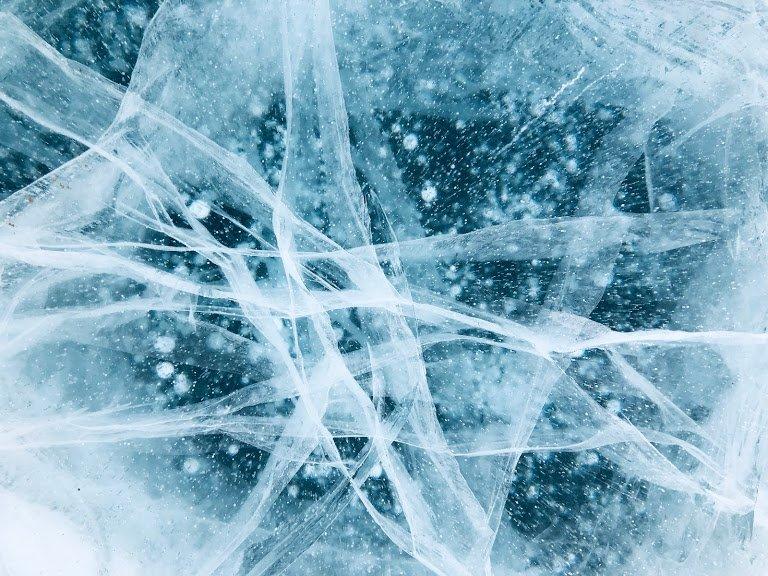 Ice adventure Baikal Lake